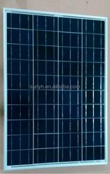 High Efficiency CE 12V 80W polycrystalline solar panel manufacturer Product