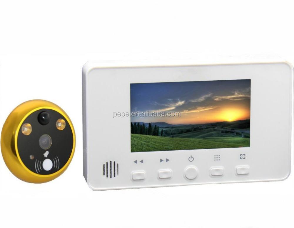 top vente smart home security camera judas de porte sans. Black Bedroom Furniture Sets. Home Design Ideas