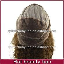 Grade AAAAA brazilian virgin human hair lace front wig