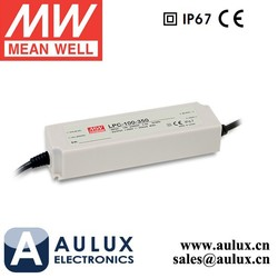 Meanwell LED Driver Waterproof IP67 LPC-100-500 Mean Well 100W 500mA LED Driver
