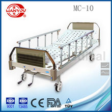 CE/ISO manual 2 crank hospital bed