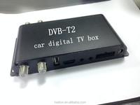 Car DVB T2 with 4 antennas car digital TV tuner with 4 antennas full HD MPEG4