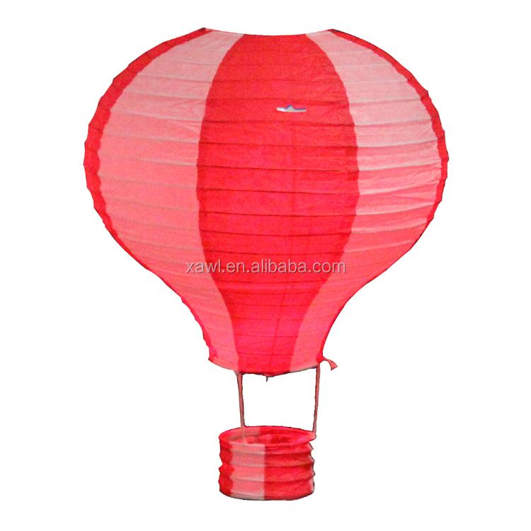 Modern design make mini paper hot air balloon lanterns for How to make a small air balloon