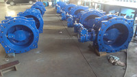 China Supplier Flanged Double Eccentric Butterfly Valve