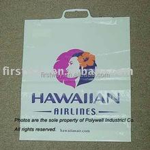 Plastic Clip Closure Handle Garment Bag