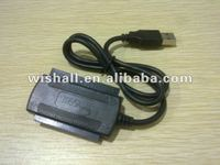 High speed usb 2.0 to IDE and SATA Adapter