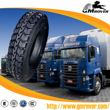 China Low Price GM ROVER Brand All Steel Radial Truck Tire 385/65R22.5 315 80r22.5 1200R24 11r22.5 for tire Distributors dealer