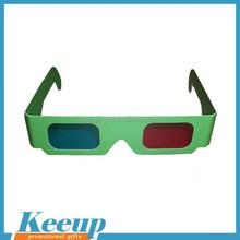 Logo Branded Cheap 3D Paper Glasses for Cinema