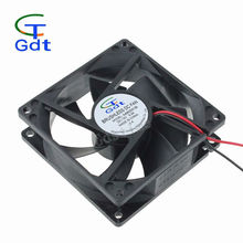 80mm x 25mm 8025 Computer Case 5V 12V DC Brushless Axial Fan Motor