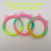 Rainbow cover for mobile phone,unbreakable phone cases for girls