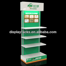 retail shop high quality apray paingting wooden display stand for water purifer