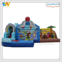 used inflatable bouncer children inflatable pool with slide