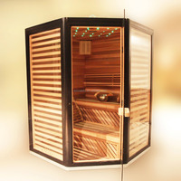 SAL-1919 sauna and steam combined room