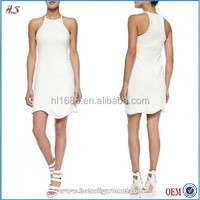 The 2015 latest casual design new model casual frocks dresses for woman
