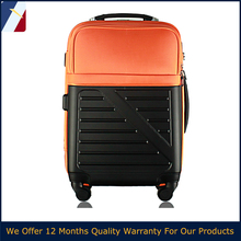New design 20''/24''/28'' trolley luggage with outer porket hotselling in euro market