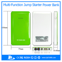 Smartphone accessories 8000mah universal battery chargers portable rechargeable jump starter power bank