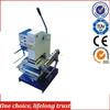 TJ-30 Hand operated Ice cream sticks branding machine wood ice cream sticks hot stamping machine/embossing machine