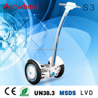 Airwheel S3 electric motorcycle with CE,RoHS,MSDS certificate SONY battery