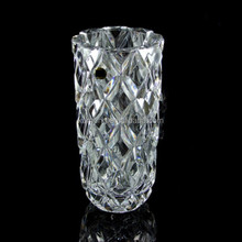 fashionly lead rectangular crystal glass vases