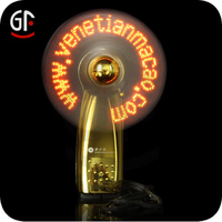 2015 Hot Selling New Style Led Light Advertising Gift Led Fan Gift Suppliers
