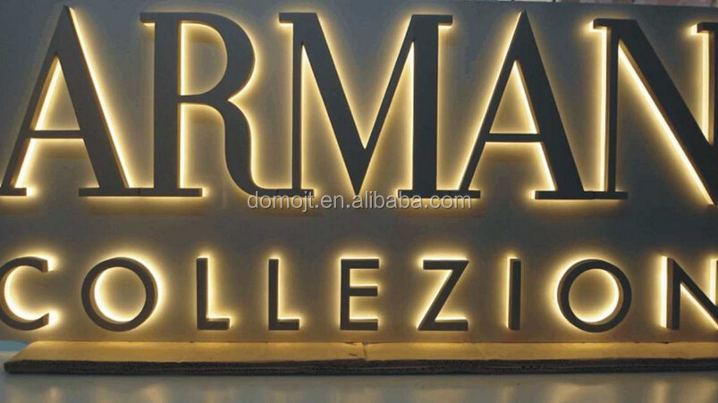 Wholesale alibaba wholesale lighted alphabet metal letter for Cheap channel letter signs