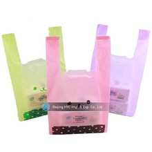Trade Assurance Die-Cut Printed Plastic Retail Shopping Bags/ handle bag (LDPE)
