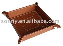 Men's Leather Key Tray