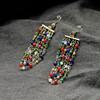 New design fashion long style zinc alloy earring,rhinestone earring(SWTNSXR713)