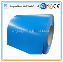 Full zinc coating color coated gi ppgi coil for building materials as warehouse roof steel frame