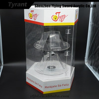 2015 Acrylic DP-R01 Rotating Mobile Display Case