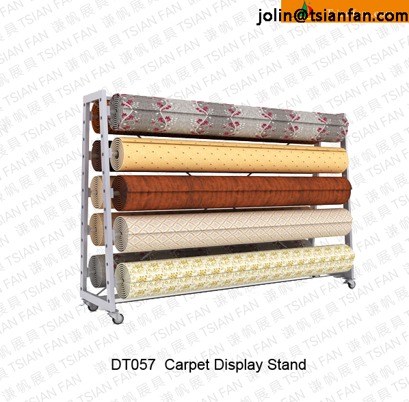 Dt057 Carpet Rug Display Rack / Roll Carpet Display Rack