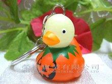 Halloween Flashing Duck Keychain