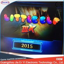 2015 New multi game pcb, LITTLE ELF 3 , 540 in 1 game board