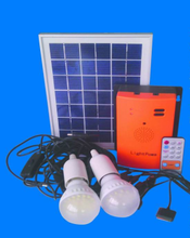 Mini 5w 10w 20w solar system with mobile charger