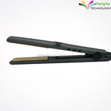 salone di oro plat nano ceramica digitale 1 pollici ferro dei capelli piatto