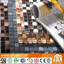 Popular Crystal mixed mosaic Living Room and bathroom Wall decoration