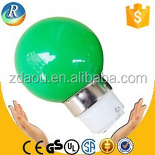 Green Led Christmas color bulb