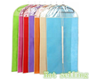 Colorful Foldable garment storage bags dust proof cover for suit