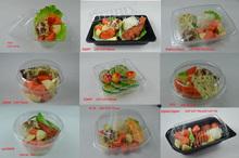 clear disposable plastic Salad Box