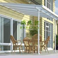 Cutsomized Waterproof Balcony Patio Covers,Metal Patio Cover Shade, Pergola Patio Covers