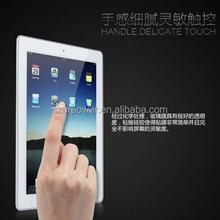 Factory supply screen protector delicate touch anti oil 0.33mm round edge tempered glass screen protector for ipad 2 3 4