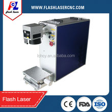 Laser Marking Application Animal ear tag making equipments with double red light pointer/color marking