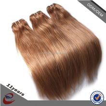 Top grade virgin brazilian straight hair, ali express brazilian hair weave blonde and brown