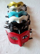 Wholesale Colorful Transparent Halloween Venetian Masks Decorative