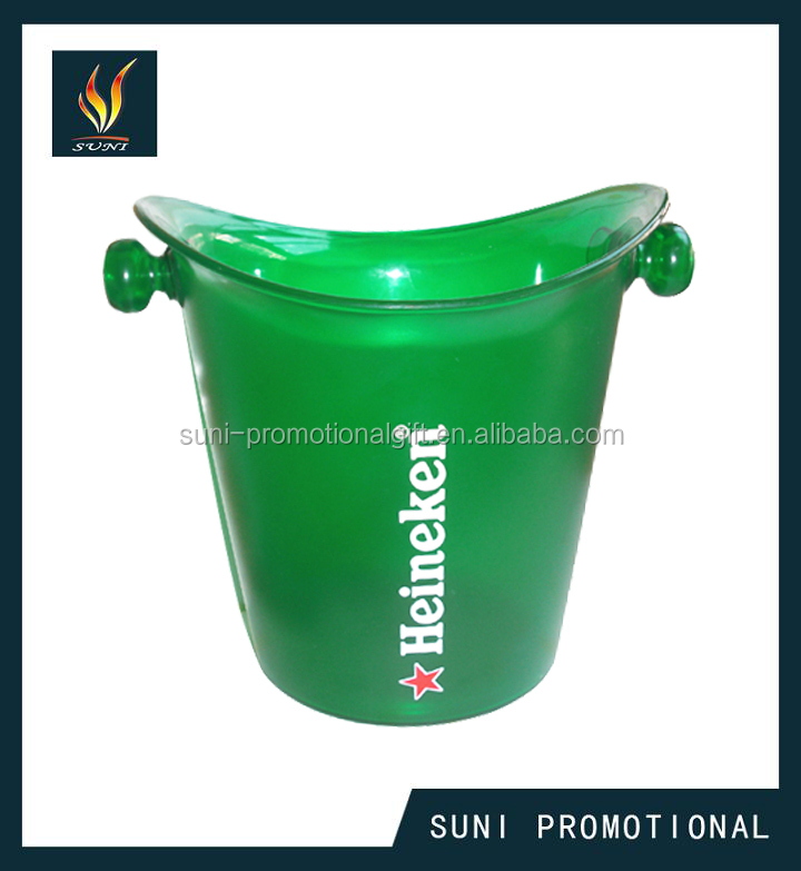 Plastic ice bucket/Beer ice bucket for beer promotion project