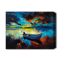 Abstract oil picture for wall bedroom seascape painting