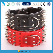 Soft Pu Leather Dog Collars Studded Spiked Puppy Cat Pet Collars