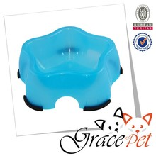 Wholesale stainless steel dog bowl star shaped dog bowl