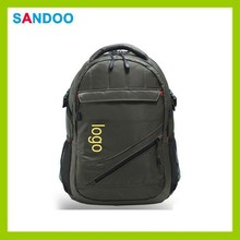Quanzhou manufacturer custom school back pack, nylon backpack