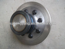 two axle van trailer low price hardening bolted king pin 2'' and 3.5'' king pin with screw